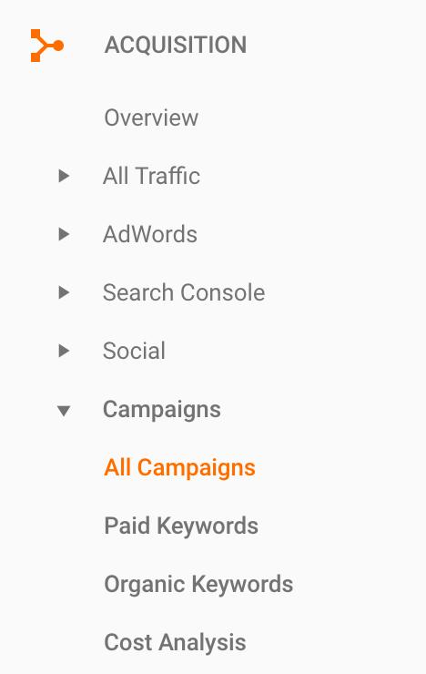 campaigns report