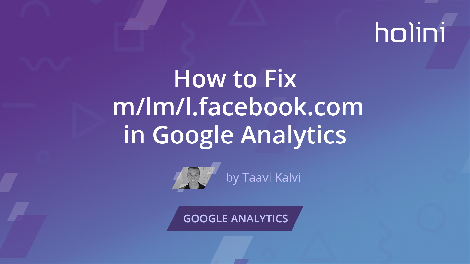 How to Fix m/lm/l facebook com in Google Analytics