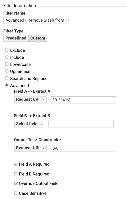 Remove Slash from Page Paths